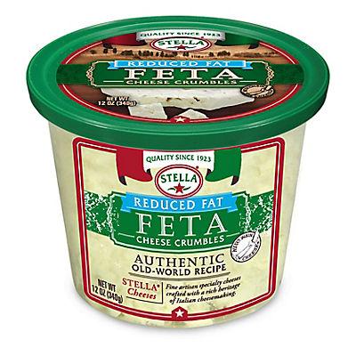 Stella Reduced Fat Feta Cheese Crumbles, 12 oz.