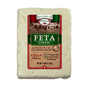 Stella Feta Cheese, 2.5 lbs.