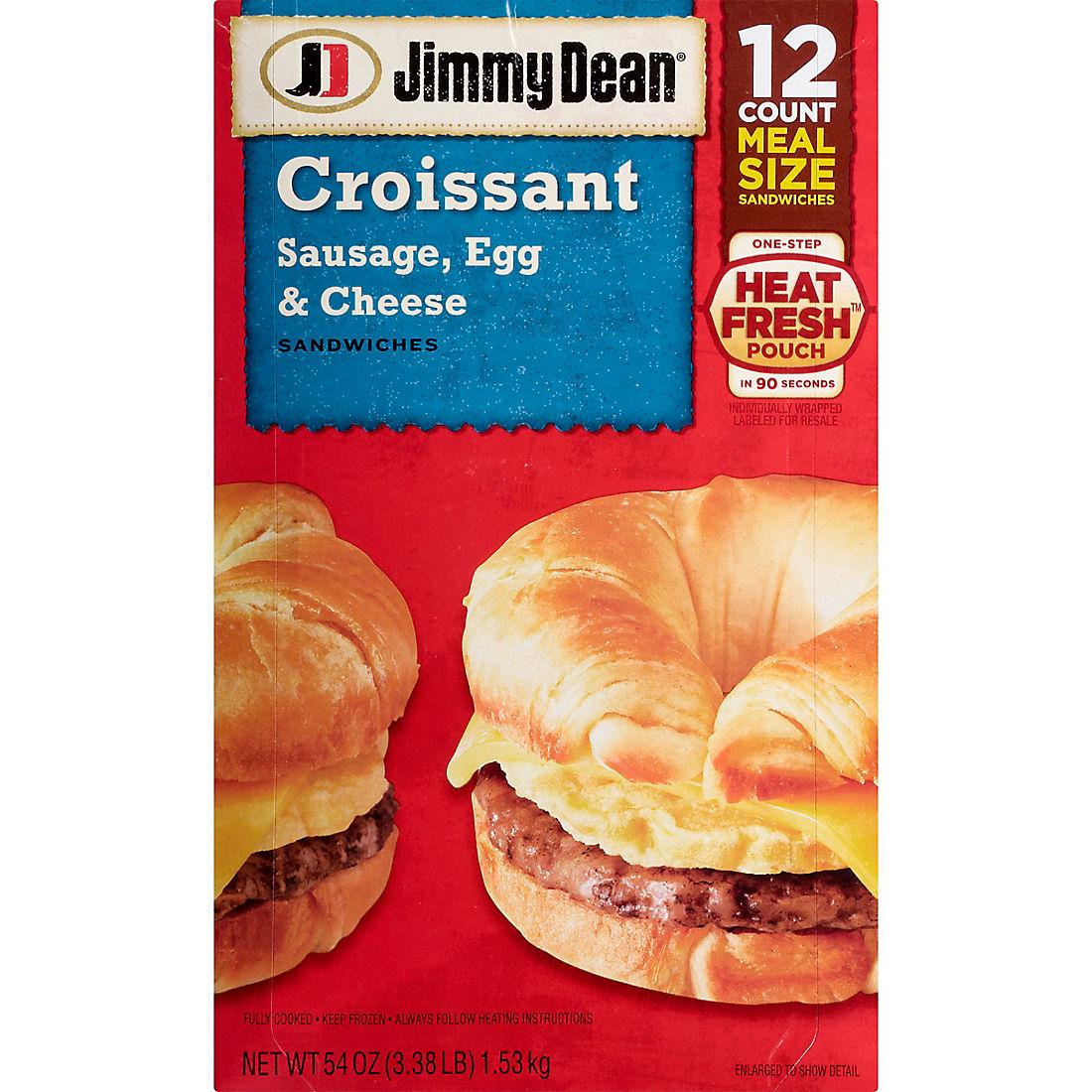 Jimmy Dean Frozen Sausage, Egg & Cheese