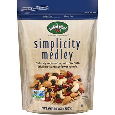 Second Nature Simplicity Medley Trail Mix, 26 oz.