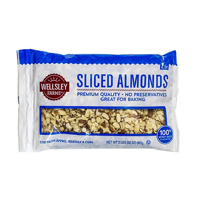 Wellsley Farms Sliced Almonds, 32 oz.