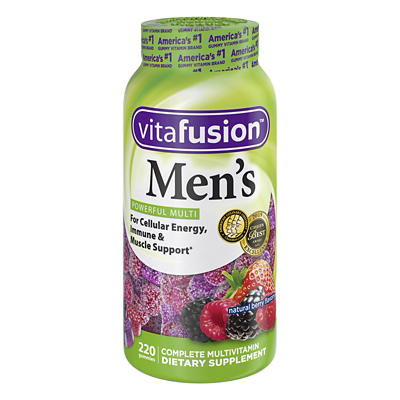 Vitafusion Men's Gummy Multivitamin, 220 ct.