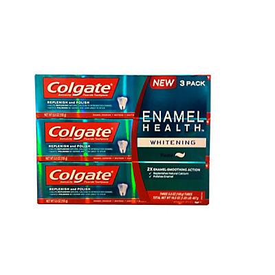 Colgate Enamel Toothpaste, 3 pk./5.5 oz.