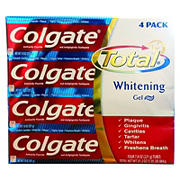 Colgate Total Whitening Gel, 4 pk./7.8 oz.