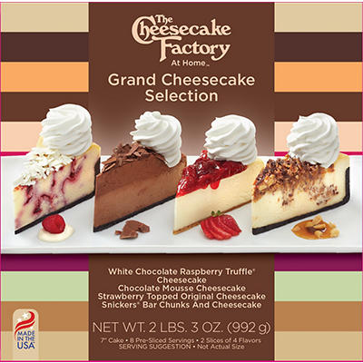 The Cheesecake Factory Grand Cheesecake Selection, 8 ct.