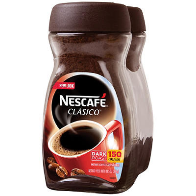 Nescafe Clasico Instant Coffee, 2 pk./10.5 oz.