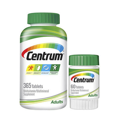 Centrum Adult Multivitamin, 365+60 ct.
