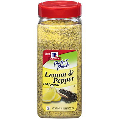 McCormick Perfect Pinch Lemon & Pepper Seasoning, 19.75 oz.