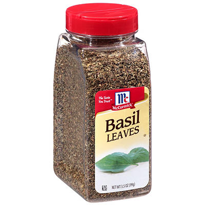 McCormick Basil Leaves, 3.5 oz.
