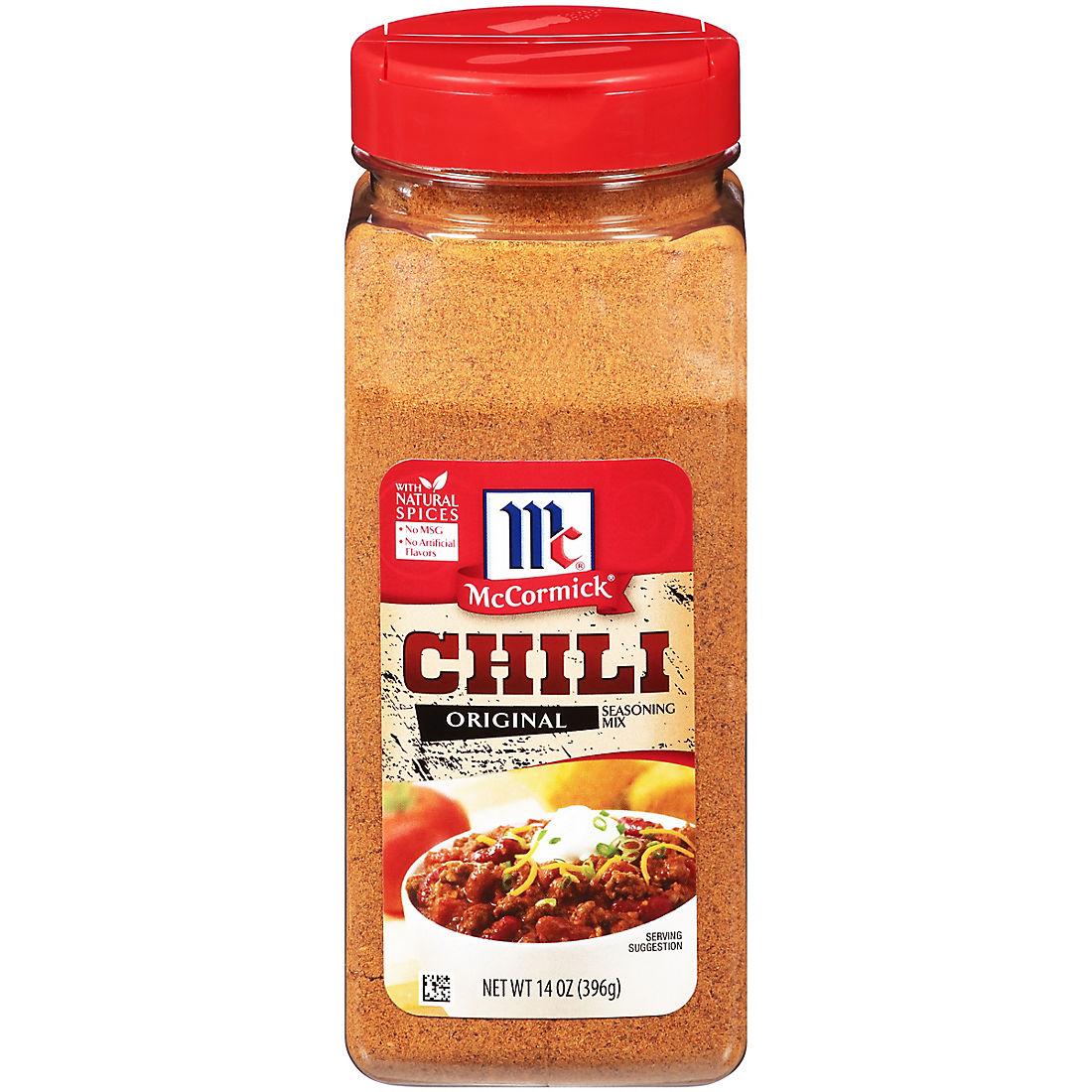 McCormick Chili Original Seasoning Mix, 14 oz