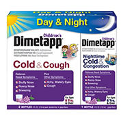 Dimetapp Children's Cold and Cough Day and Night and Congestion Night, 3 pk.