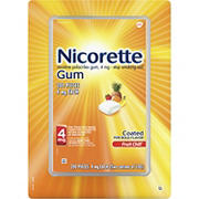 Nicorette 4mg Fruit Chill Gum, 200 ct.