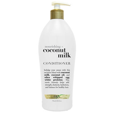 OGX Nourishing Coconut Milk Conditioner, 25.4 oz.