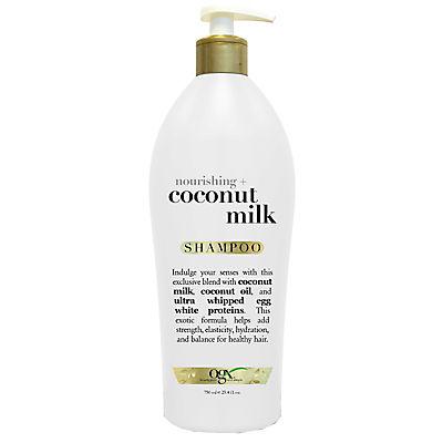 OGX Nourishing Coconut Milk Shampoo, 25.4 oz.