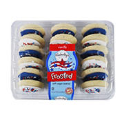 Kimberly's Bakeshoppe Frosted Patriotic Sugar Cookies, 24.4 oz