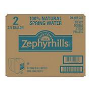 Zephyrhills 100% Natural Spring Water, 2 pk./2.5 gal.