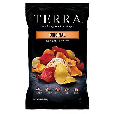 Terra Original Sea Salt Vegetable Chips, 15 oz.