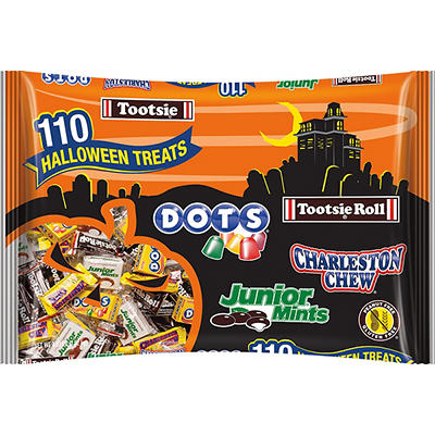 Tootsie Halloween Snack Bag, 110 ct.