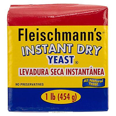 Fleischmann's Instant Dry Yeast, 2 pk./1 lb.