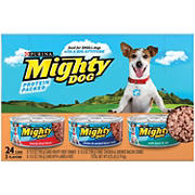 Purina Mighty Dog Dog Food Variety Pack, 24 ct./5.5 oz.
