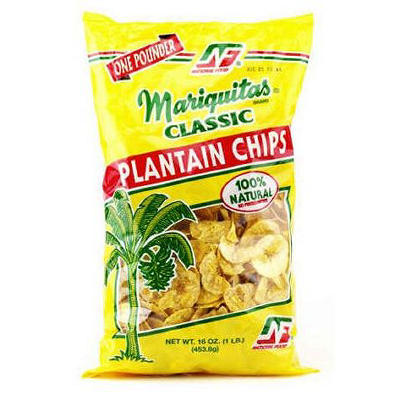 Mariquitas Plantain Chips, 16 oz.