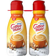 Nestle CoffeeMate Liquid Hazelnut Creamer, 2 pk./32 oz.