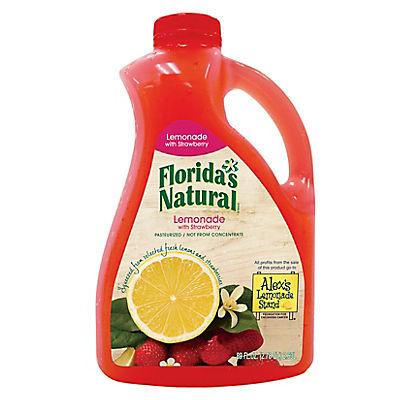 Florida's Natural NFC Strawberry Lemonade, 6 pk./89 oz.