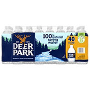 Deer Park 100% Natural Spring Water, 40 pk./16.9 oz.
