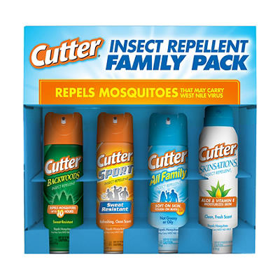 Cutter Bug Spray Family Pack, 4 ct.