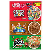 Kellogg Tri-Fun Cereal Pack, 58 oz.