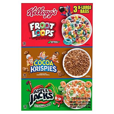 Kellogg Tri-Fun Cereal Pack, 58 oz.