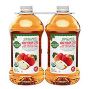 Wellsley Farms Organic Honeycrisp Apple Juice, 2 pk./96 oz.