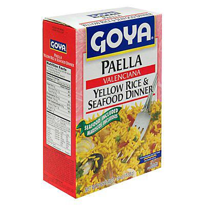 Goya Paella, 19 oz.Box
