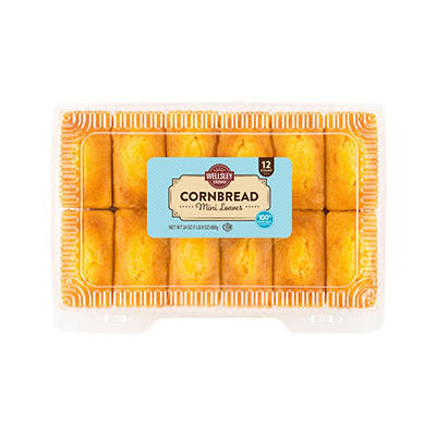 Wellsley Farms Mini Cornbread Loaves, 12 ct./2 oz.