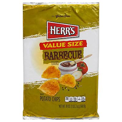 HERR'S Barbecue Potato Chips, 18 oz.