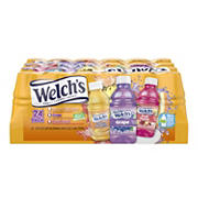 Welch's Juice Drink Variety Pack, 24 pk./10 oz.