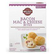 Wellsley Farms Bacon Mac & Cheese Bites, 1.125 lbs.
