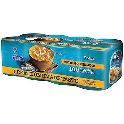 Progresso Chicken Noodle Soup, 8 pk./19 oz.
