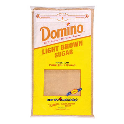 Domino Light Brown Sugar, 4 lbs.