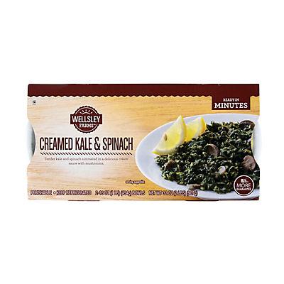 Wellsley Farms Creamed Kale & Spinach 2 lbs.