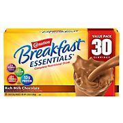 Carnation Breakfast Essentials Complete Nutritional Drink, Rich Milk Chocolate, 30 pk./1.26 oz.