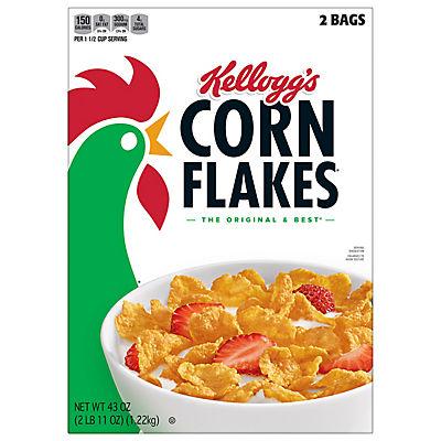 Kellogg's Corn Flakes, 43 oz.