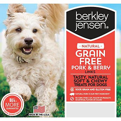 Berkley Jensen Grain-Free Pork and Berry Links Treats, 1.25 lbs.