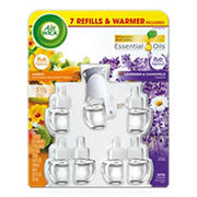Air Wick Hawaii and American Samoa Scented Oil Warmer with 7 Refills
