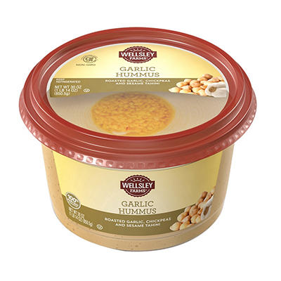 Wellsley Farms Garlic Hummus, 30 oz.