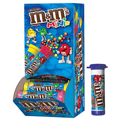 Milk Chocolate M&M's Mini Tubes, 24 ct.