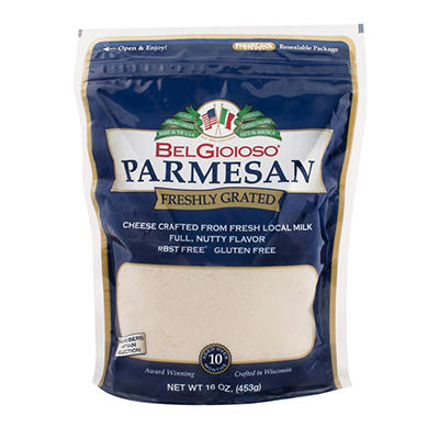 BelGioioso Grated Parmesan Cheese, 1 lb.