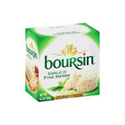 Boursin Garlic & Fine Herbs Gournay Cheese, 5.2 oz.
