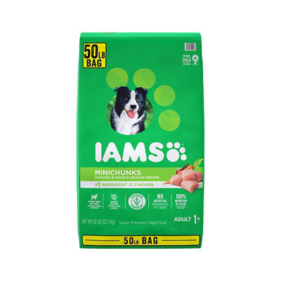 IAMS Minichunks Adult Dry Dog Food, 50 lbs.
