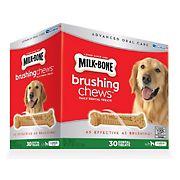 Milk-Bone Brushing Chews Daily Dental Dog Treats, 30 ct.